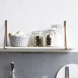 Hylde house doctor hvid marmor