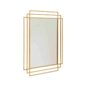 Square spejl guld nordal