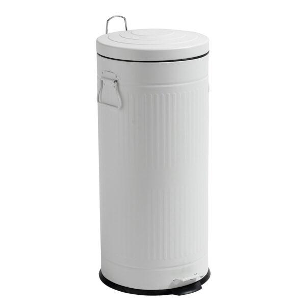 Nordal affaldsspand i hvid, 30 liter