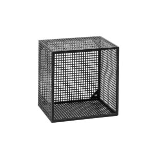 Wire box Hylde i sort metal nordal