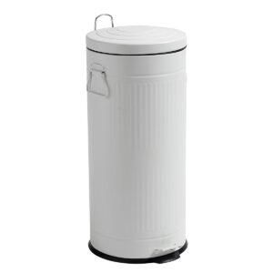 Nordal hvid affaldsspand, 30 liter