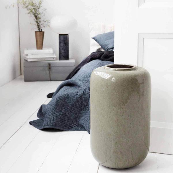 Jade vase House Doctor keramik grå