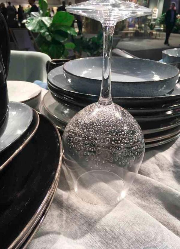 Bubble rødvinsglas Broste copenhagen