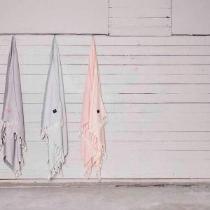 Takk home hammam håndklæder i pastelfarver