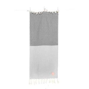 Gæstehåndklæde grå Takk home 45x90 cm