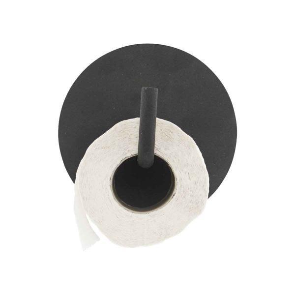 Text toiletpapirholder sort Je0180 House Doctor