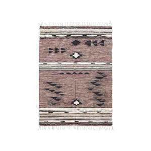 Tribe gulvtæppe 140x200 cm fra House Doctor i rosa