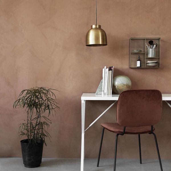comma spisebordsstoli rust rød