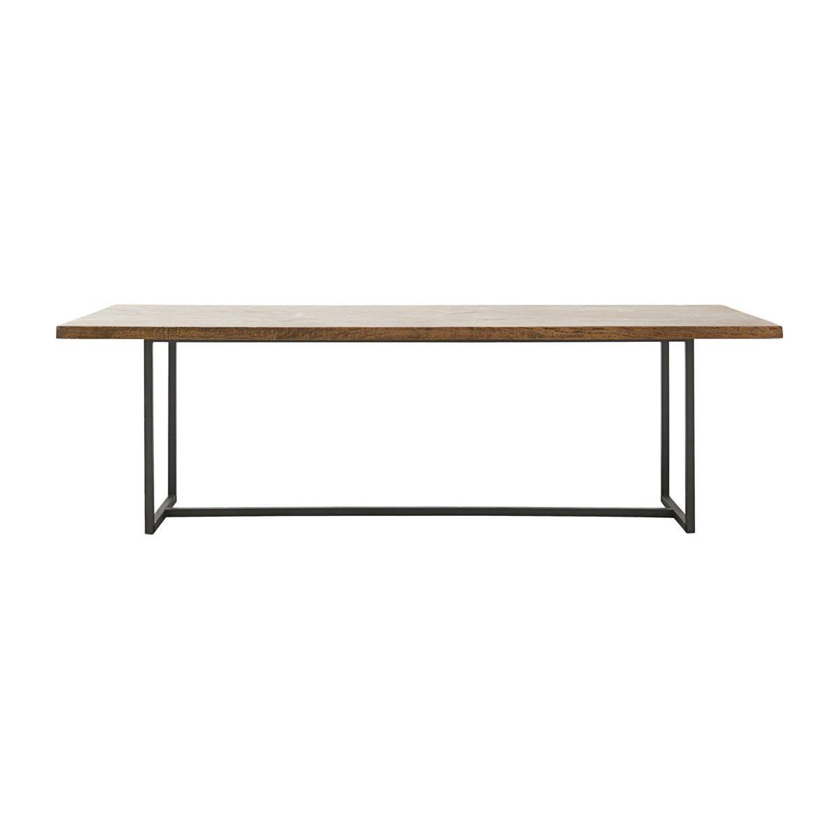 House Doctor - Kant spisebord - Sildebensmønster - 90x240 cm