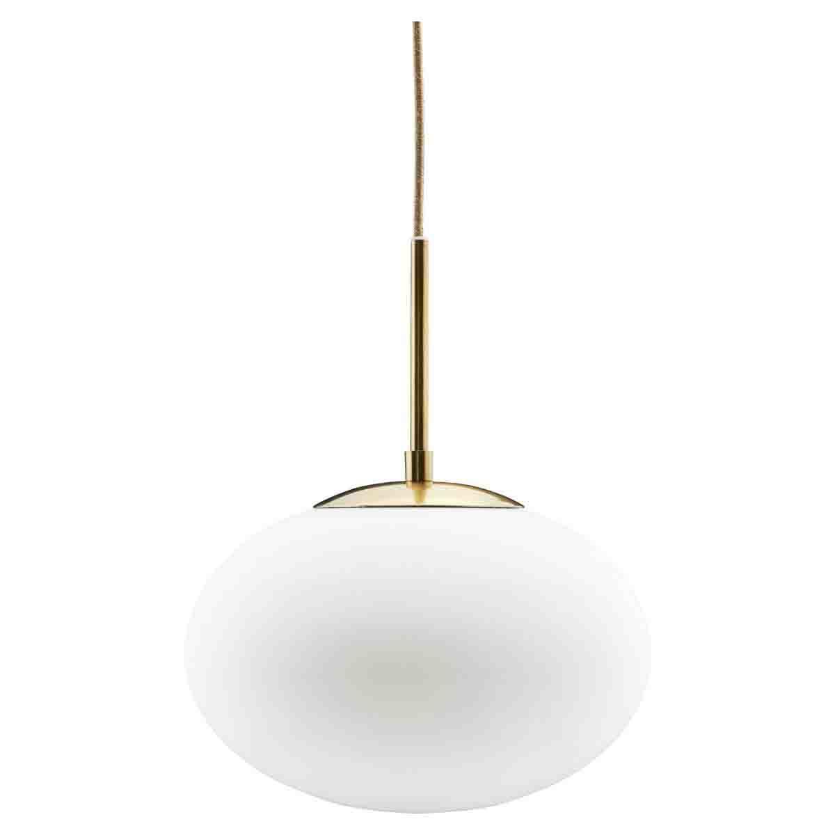 Picture of: Opal Pendel Lampe I Hvid O30 Cm House Doctor Loftlampe