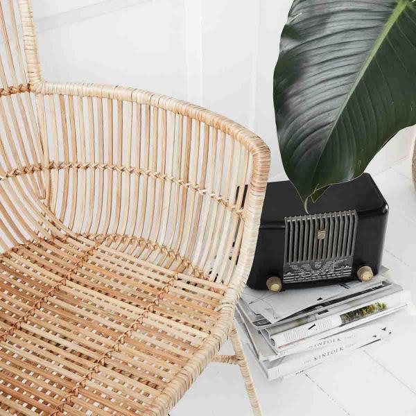 Cuun spisebordsstol i natur fra House Doctor.