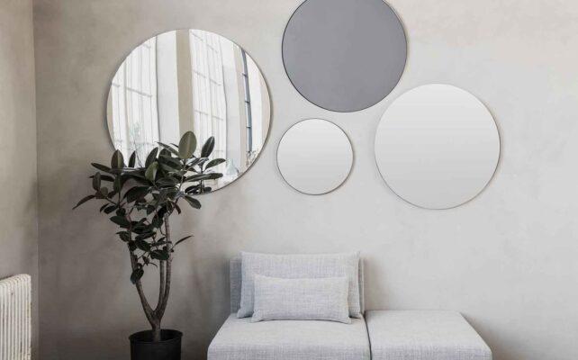 House Doctor walls spejl ø50 cm