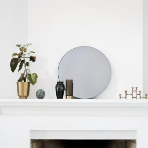Walls spejl i grå fra House Doctor. Dia 50 cm