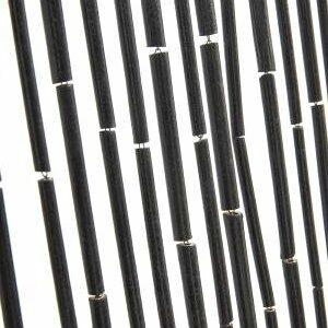 Bambus flueforhæng i sort fra Nordal.