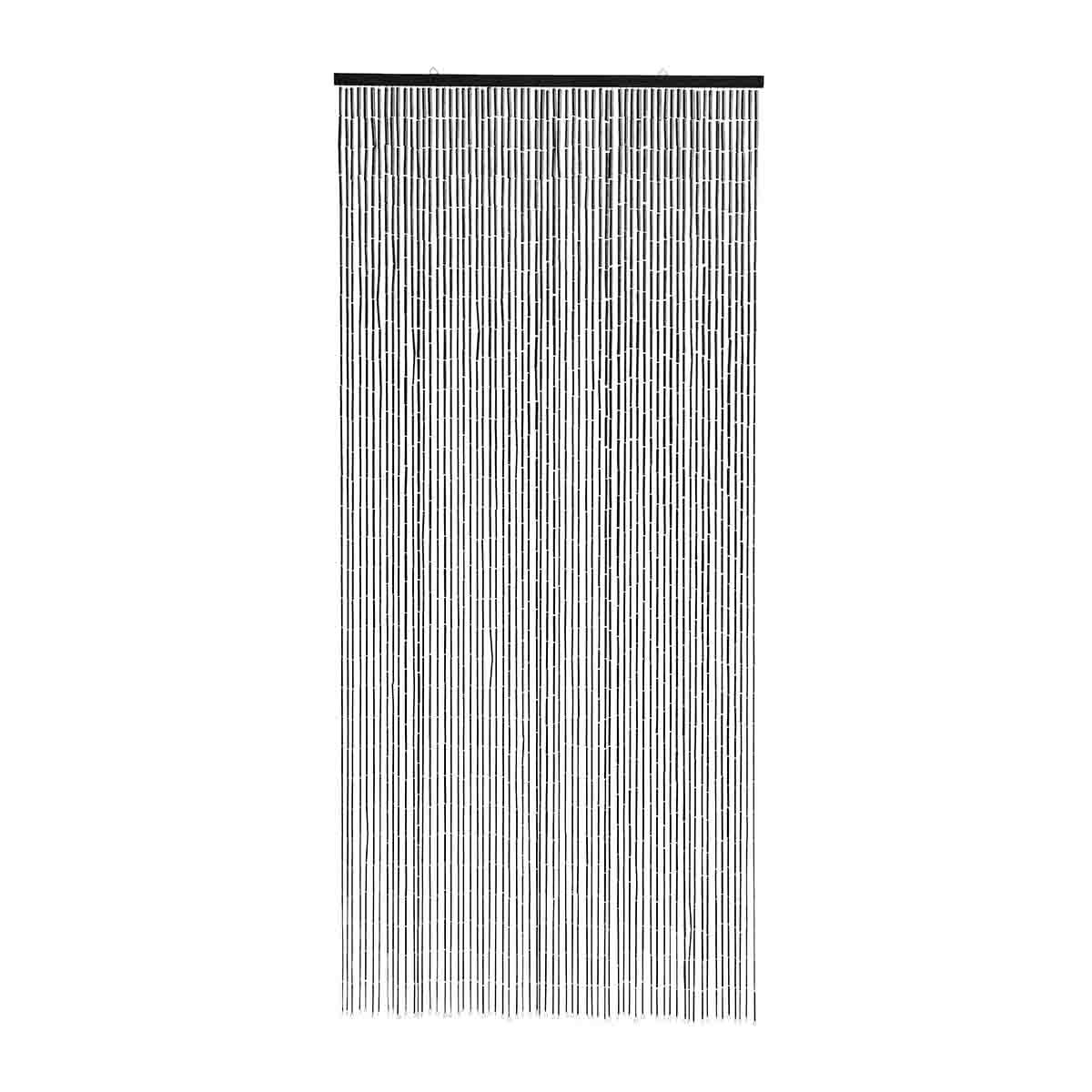 Picture of: Bambus Flueforhaeng I Sort Nordal Dorforhaeng 90×200 Cm