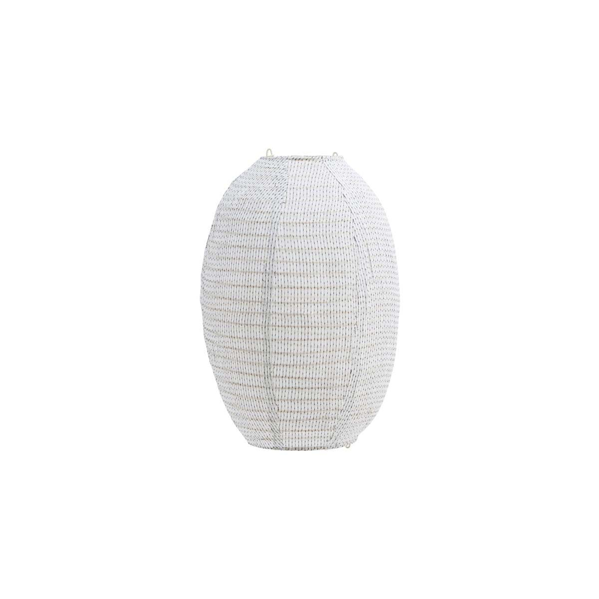 Image of   House Doctor Stitch lampeskærm i off white - 40 cm