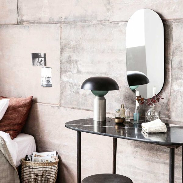 Oval spejl fra House Doctor