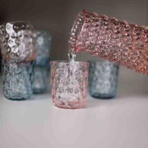 Kodanska drikkeglas i pink