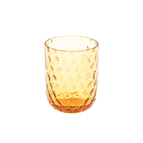 Kodanska drikkeglas amber small drops