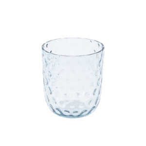 Drikkeglas small drops blue smoke fra Kodanska. Mundblæst drikkeglas