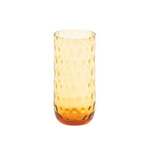 Drikkeglas longdrinkg amber fra kodanska. mundblæst drikkeglas.
