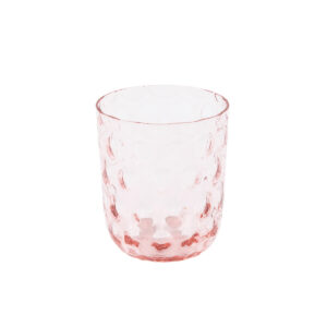 Kodanska danish summer drikkeglas big drops pink
