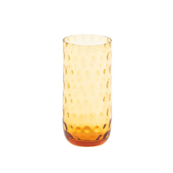 Kodanska Drikkeglas longdrinkg amber fra kodanska. mundblæst drikkeglas.
