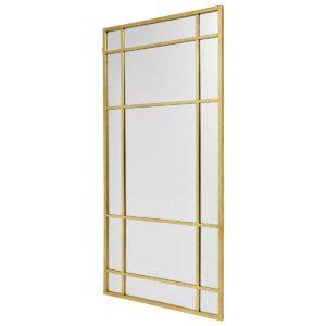Spirit spejl i guld 102x204 cm fra Nordal