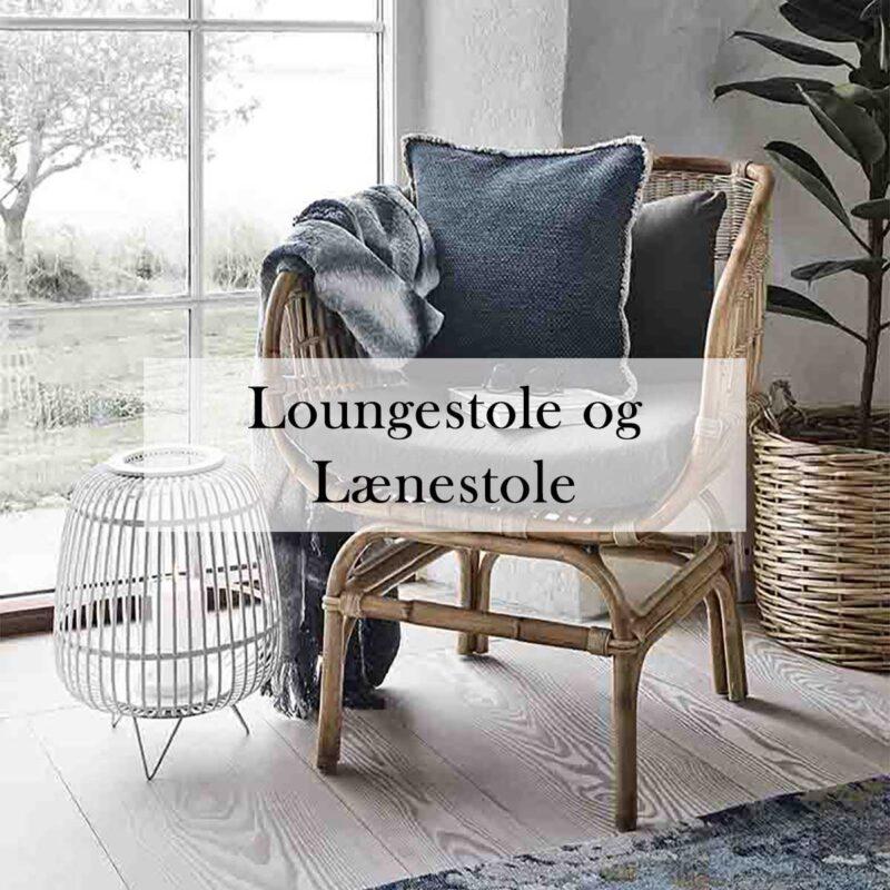 Loungestole og lænestole