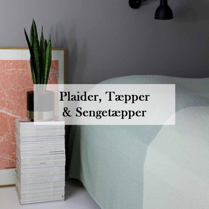 Plaider, tæpper og sengetæpper