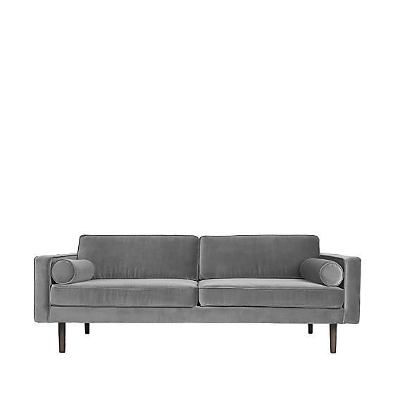 Image of   Broste Copenhagen Wind 3 pers. sofa - Drizzle grå