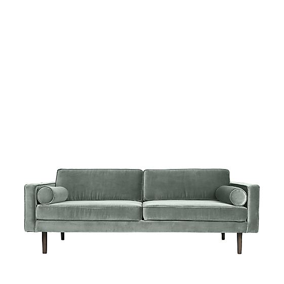 Image of   Broste Copenhagen Wind 3 pers. sofa - Chinois Green