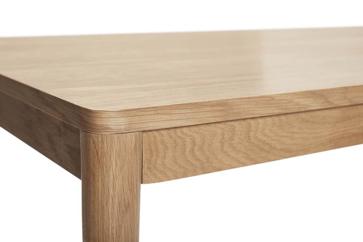 Topmoderne Spisebord i egetræ 140x80 cm - Hübsch spisebord - høj kvalitet NB-42