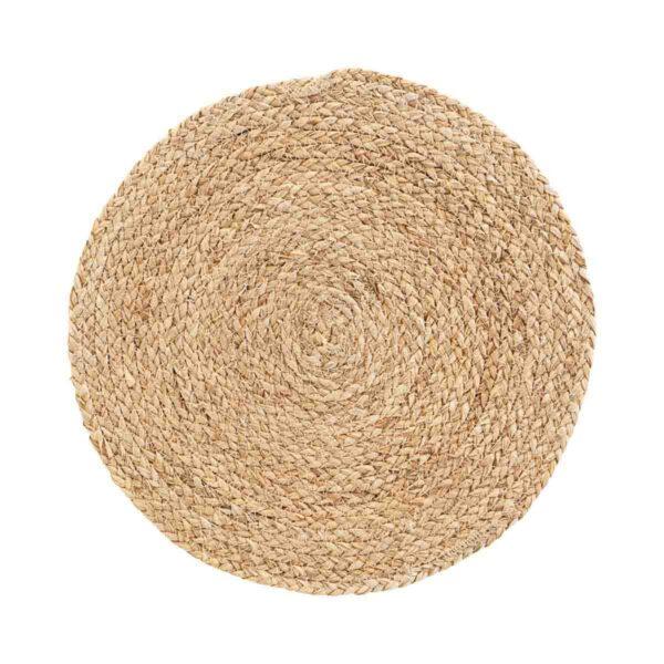 Circle dækkeservietter i natur