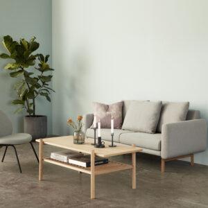 Hübsch loungestol i grå