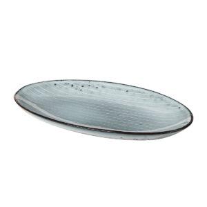 Broste Copenhagen Nordic Sea fad Oval 22 cm lang