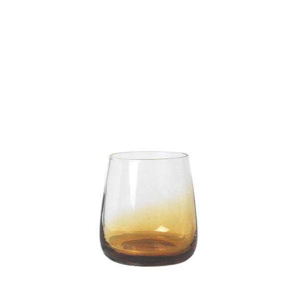 Broste Copenhagen amber drikkeglas 35 cl