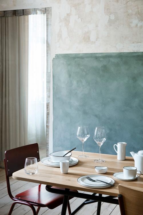 Broste Copenhagen sandvig drikkeglas og rødvinsglas