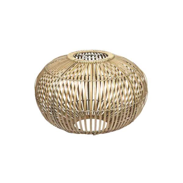 Broste Copenhagen Zep lampeskærm i bambus Ø48 cm
