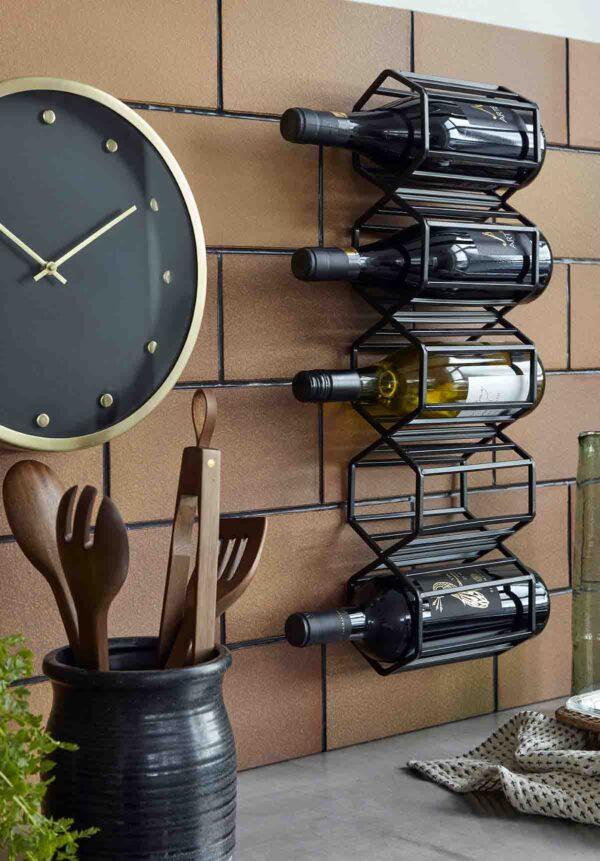 Nordal wine vinreol i sort