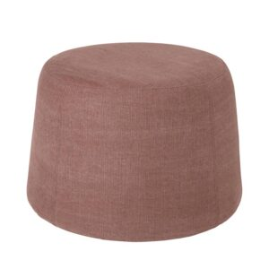 Broste Copenhagen Air Puf i canyon rose, Ø65 cm