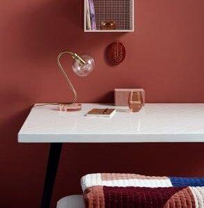 Nordal Patchwork quiltet tæppe - vægtæppe i rosa mix