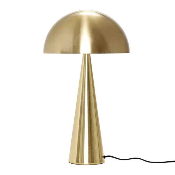 Hübsch bordlampe i messing 52 cm