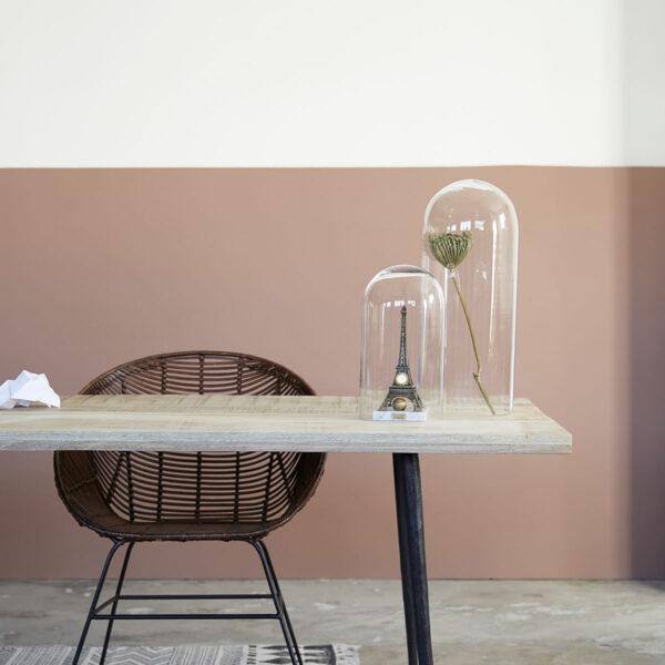 House Doctor Club spisebord i lys mangotræ og jern 200 cm