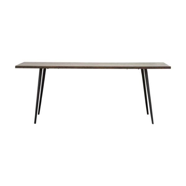 House Doctor Club spisebord i sort mangotræ 200 cm