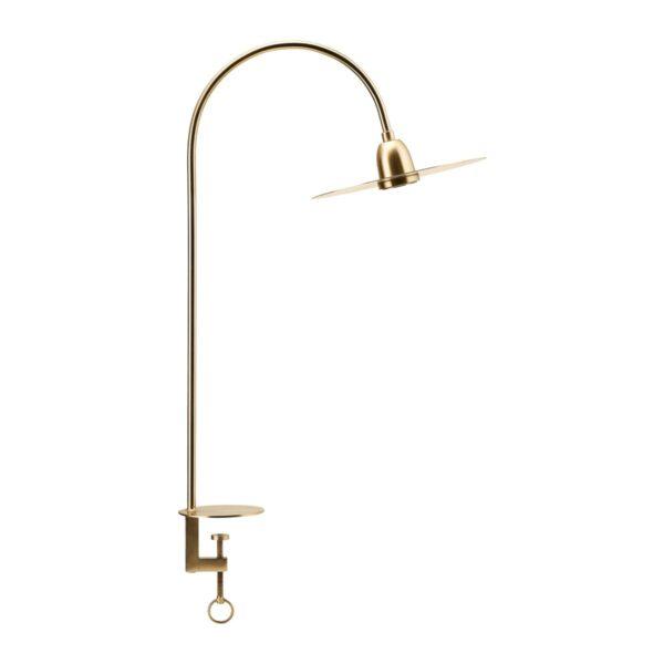 House Doctor Glow bordlampe i messing 78,7 cm