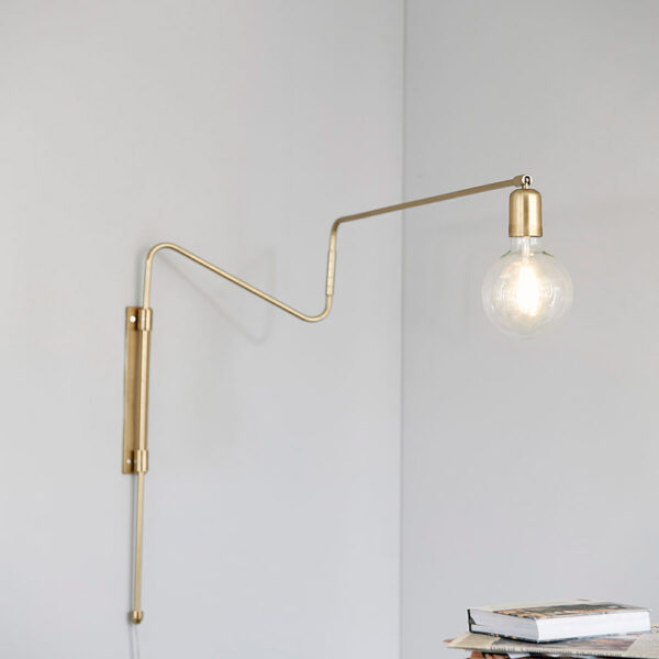 House Doctor swing messing væglampe 70 cm