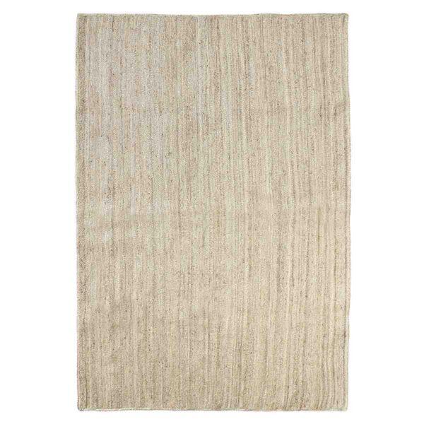 Nordal jute gulvtæppe i natur, 160x240 cm