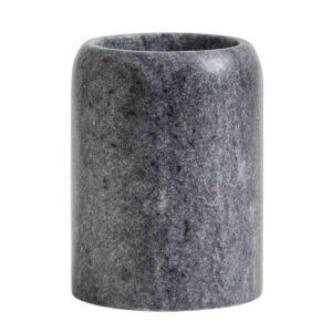 Nordal tanbørstekrus sortgrå marmor