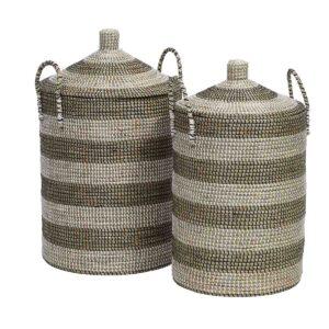 Nordal vasketøjskurve med låg